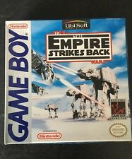 STAR WARS -  EMPIRE STRIKES BACK Vintage Gameboy game - Boxed & complete - Retro