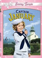 Captain January (Shirley Temple) New DVD