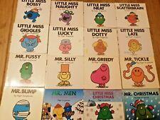 Mr. Men & Little Miss Book Set - Set of 16