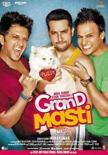 GRAND MASTI (2013) VIVEK OBEROI, RITESH DESHMUKH, AAFTAB ~ BOLLYWOOD DVD