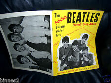 THE BEATLES 1963 Sheet Music SONG BOOK 1st Issue WORDS AND MUSIC - NEAR MINT !