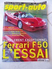 Sport Auto n°403 Ferrari F50 Bmw 323i Honda NSX Renault Spider Viper RT10
