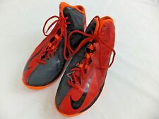 Nike Mens Basketball Shoes Sneakers 8.5 AirMax Stutter Step 2 Red Black 653455
