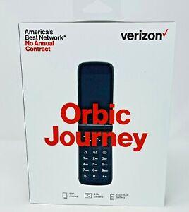 Verizon Prepaid Orbic Journey V 4G LTE Flip Phone Black ORB2200LBVZPP New in Box