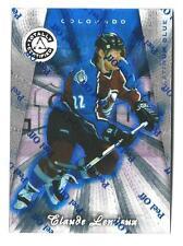 CLAUDE LEMIEUX 1997-98 Pinnacle Totally Certified Platinum BLUE #d 3099 Colorado