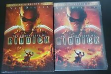 The Chronicles of Riddick (Dvd, 2004) W/Slipcover Sealed See Pics