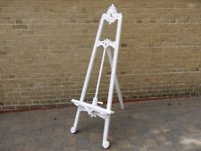 large easel solid wood White hand carved 170 cm easel mahogany wedding portrait