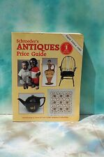Schroeder's Antiques Price Guide, Eighth Edition 1990 FREE SHIPPING!