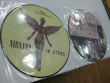 NIRVANA PICTURE DISC IN UTERO 10TH ANNIVERSARY EDITION