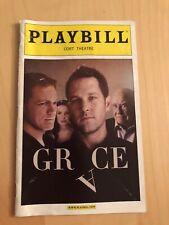 Grace October 2012 Broadway Playbill Opening Night