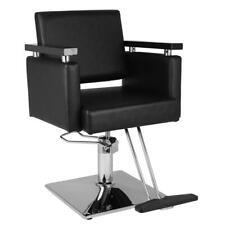 Classic Hydraulic Barber Chair Salon Hair Beauty Shampoo Equipment Stylist Black