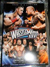WWE WRESTLEMANIA 28 SOUVENIR ARENA EDITION PROGRAM 2012 SUNLIFE STADIUM MIAMI FL