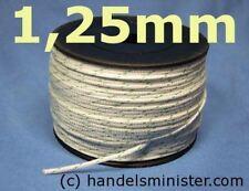 1,25mm Drachenschnur Dacron für Thermikschnüffler weiß