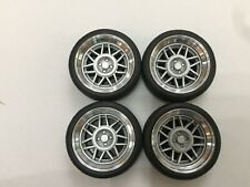 """1/18 scale Modified Tuning REAL ALUMINIUM (15"""")SNOWFLAKES WHEELS"""