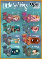 8 x 150 gr. Sockenwolle/Strumpfwolle Opal Little Secrets  6-fach  Top Neuheit