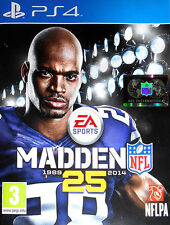 MADDEN NFL 25 PS4 Sony PlayStation 4 Football Video Game UK Release New Sealed