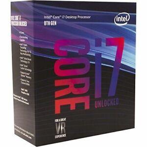 Intel Core I7-8700K 3,7GHz Hexa-Core (BX80684I78700K) Processore