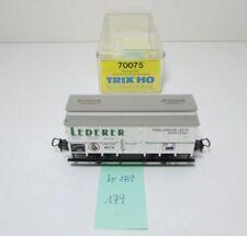 (179) h0 Trix 70075 dc refrigeración carro K. Bay. STS. B. transporte Lederer museo hr1709