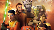 Star wars rebels  Taylor Gray Freddie Prinze Silk poster 14 X 24 inch wallpaper