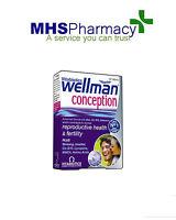 Vitabiotics Wellman Conception Tab 30 Improves Male Reproductive Health Harmones