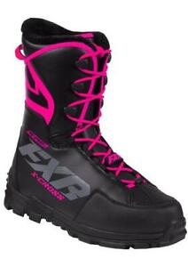 "FXR ""X-CROSS PRO SPEED"" BOOTS SNOWMOBILE -40C - FUCHSIA - PICK WOMENS SIZE"