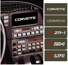 C4 Corvette 1984-1989 Information Center Coverplates