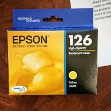 Epson Printer Ink Yellow 126