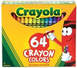 Crayola 64 Crayons Pack