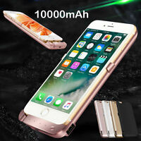 10000mAh External Battery Backup Charger Charging Cover Case For iPhone 8 7 Plus