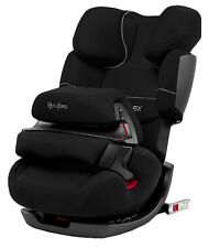 Cybex Pallas-Fix - Pure Black Konvertibel Kindersitz