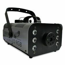 ETEC FOG 1200 LED Nebelmaschine 6x3 Watt LED RGB 3in1 Funkfernbedienung Fogger