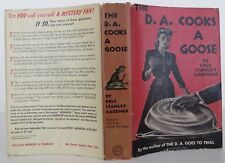 ERLE STANLEY GARDNER The D. A. Cooks A Goose FIRST EDITION