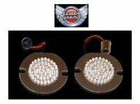 "3"" LED FLAT Style Turn Signal Inserts for Harley Davidson  GEN-200-R-1156-T New"