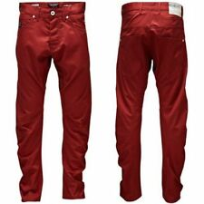 Jack & Jones Dale Twisted Chinos / Trousers / Jeans Bossa Nova Red - 33W/34L