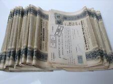EMPRUNT IMPERIAL RUSSE OBLIGATION DE 187,50 ROUB. 5% 1906 , x 50 (25+25) ACTIONS