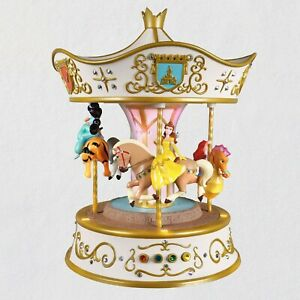 Disney Princess Dreams Go Round Carousel Musical Tabletop Decoration With Light