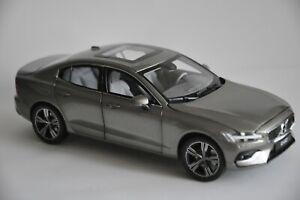 Volvo S60 2020 car model in scale 1:18 Pebble Grey