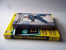 Tai-Chi for the Mind VHS (David Carradine) plus-Yoga for Dummies book. Pre-owned