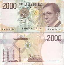 2000 lire 24/10/1990 Marconi lettera A fds