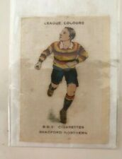 BRADFORD NORTHERN, Godfrey Phillips,BDV Cigarette Football Colours Silk.1920/21