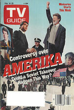 1987 TV GUIDE Amerika Could A Soviet Takeover Happen This Way? Feb. 14-20