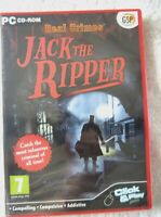 39737 - Real Crimes Jack The Ripper [NEW / SEALED] - PC (2010) Windows XP 2328A