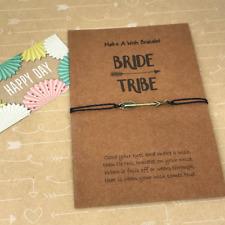 Wish Bracelet, Charm Bracelet, Bride Tribe, Arrow Charm, Hen Party Gift