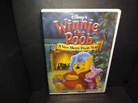 Disney Winnie the Pooh - A Very Merry Pooh Year (DVD, 2002) B243