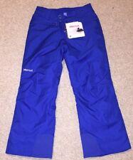 Marmot Girls Skylark snowpant ski/ snowboard Size M BNWT Bright Blue RRP $110