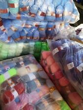 NEW STOCK NO FANCY! 4PLY DK CHUNKY EG. KNITTING CROCHET WOOL/YARN BALLS 500g!!!