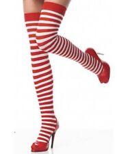 Bas chaussettes hautes sexy Maman Mère Noël pour tenue costume déguisement robe