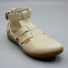 El Naturalista Ladies 38 (about 7.5) Denia Bee Tan Nubuck Leather NO INSOLES