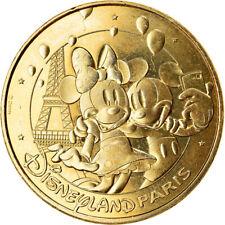 [#910312] France, Jeton, Disneyland n°43 - Mickey et Minnie font un selfie