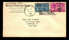 1946 Pittsburgh PA Special Delivery Cover / Nice Hotel Corner - L26009
